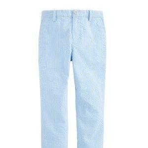 Boy's Seersucker VV Pants